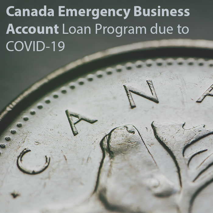 Canada Emergency Business Account loan program