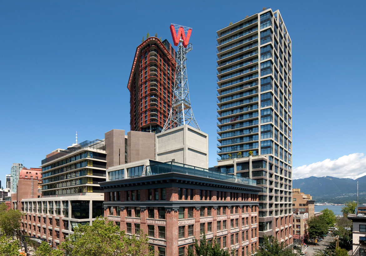 Image of the Woodward's Building, Vancouver